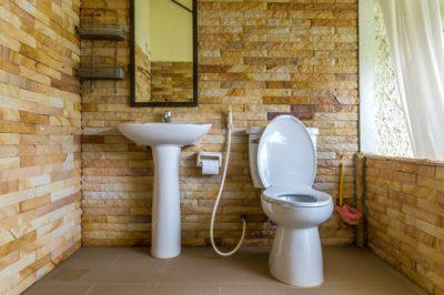 installation évier et WC
