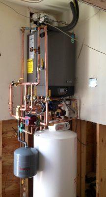 installation système chauffage