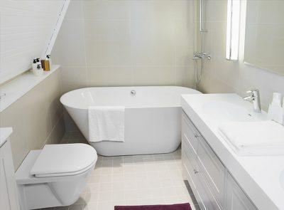 baignoire réparée
