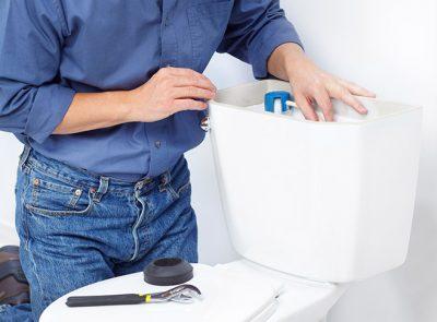 dépannage chasse d'eau toilette